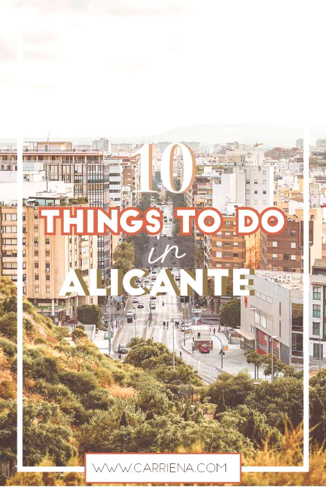 10 Things to do in Alicante. Castillo de Santa Barbara, the market, beaches like playa de San Juan