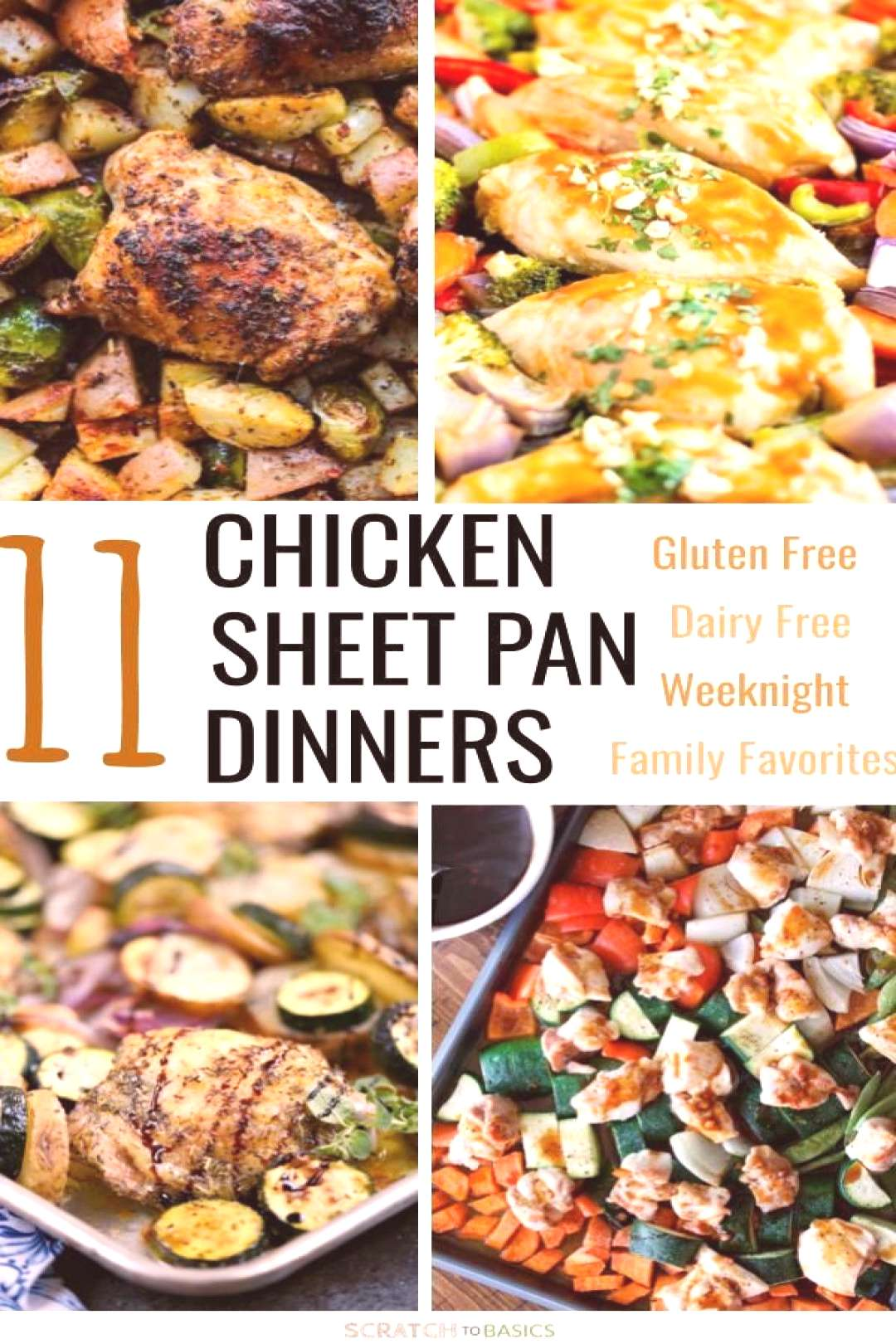 24 Amazing Gluten Free Sheet Pan Dinners Your Family Will Love -  Check out these awesome chicken w
