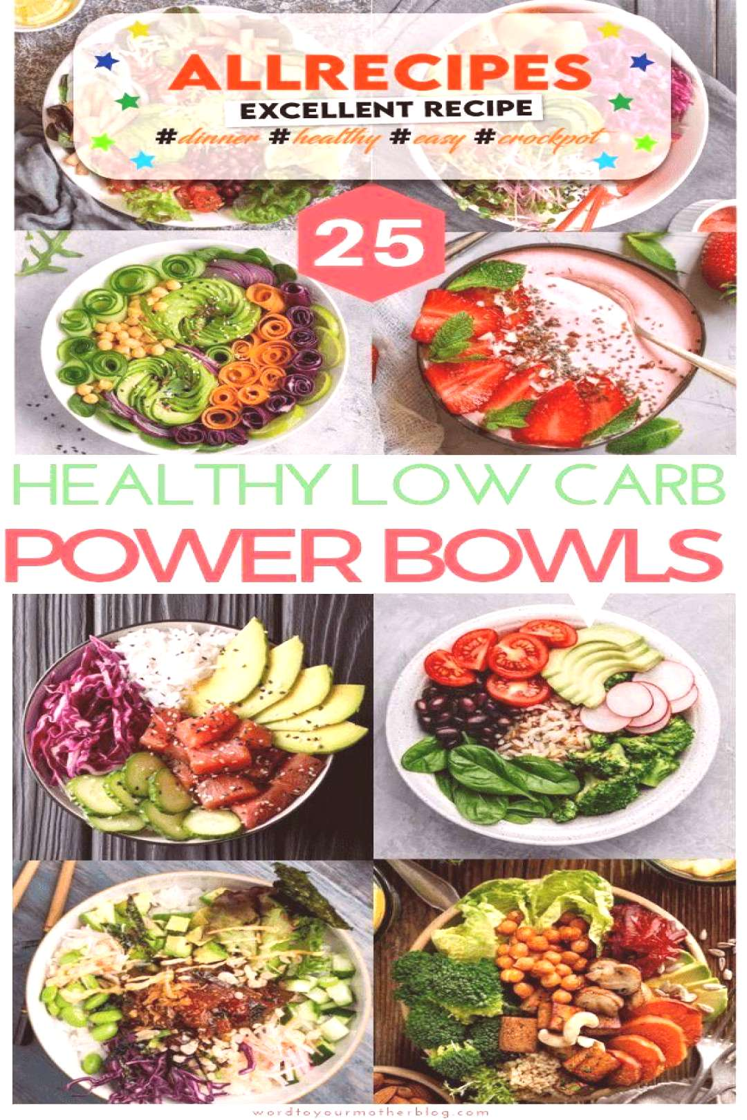 25 Insta-Worthy Low Carb Power Bowls To Add To Your Weekly Keto Meal Prep Line-Up - - 25 healthy po