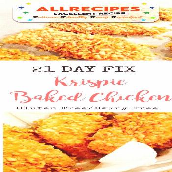 21 Day Fix Krispie Baked Chicken is Tasty !!!  Just CLICK THE LINK  to SEE THE C... - - 21 Day Fix