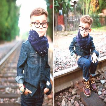 Alonso Mateo- God I just can't get over how adorable and stylish he is! -