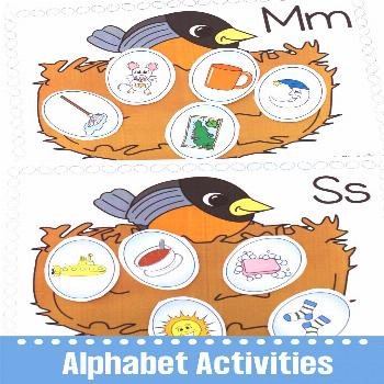 Alphabet Games These spring themed alphabet games and activities are ideal for your preschool and k
