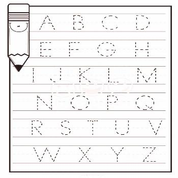 Alphabet Practice Worksheets Number Practice Worksheets image 1