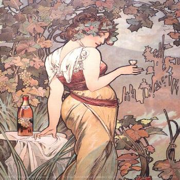 Alphonse Mucha Art Nouveau French Illustrations and Paintings High Resolution Download —