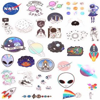 Android Wallpaper - Tumblr Space Sticker Pack Mond Sterne Planeten Sonne Aliens ...#aliens
