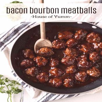 Bacon Bourbon Meatballs -   -