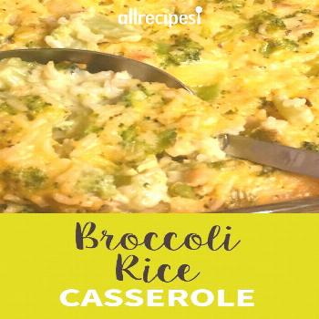 Broccoli Rice Casserole |