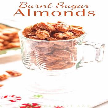 Burnt Sugar Almonds (Gebrannte Mandeln) - a traditional German recipe for delicious cinnamon sugar