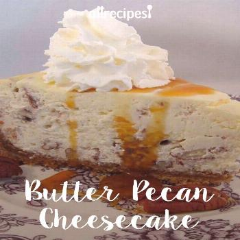 Butter Pecan Cheesecake |