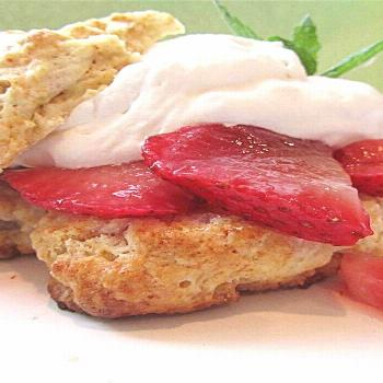 Buttermilk Strawberry Shortcake |