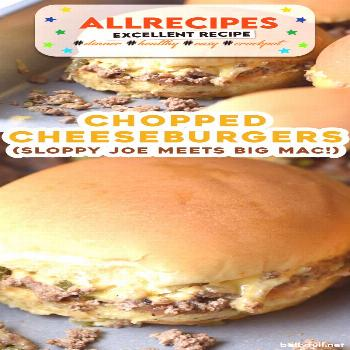 Chopped Cheeseburger Sliders - - These Chopped Cheeseburger Sliders are a cross between a sloppy jo