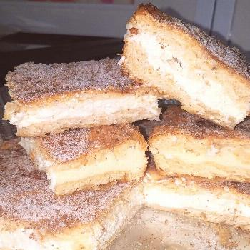 Churro Cheesecake Bars ...#newrecipe Churro Cheesecake Bars ...#newrecipe C