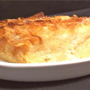 Coconut Bread Pudding |