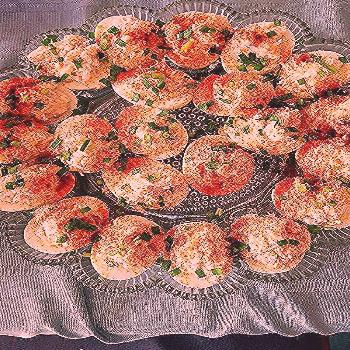 Crab-Stuffed Deviled Eggs |