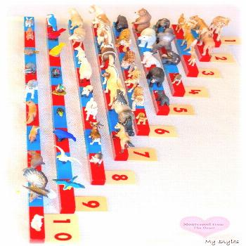 Early Math with Numbers Rods, Sandpaper Numbers and Spindles | Montessori From The Heart