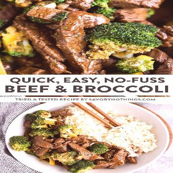Easy Beef and Broccoli Stir Fry -  This Beef and Broccoli Stir Fry is so quick and easy to make –