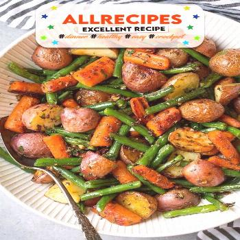 Garlic Herb Roasted Potatoes Carrots and Green Beans Recipe | Yummly - - Garlic Herb Roasted Potato
