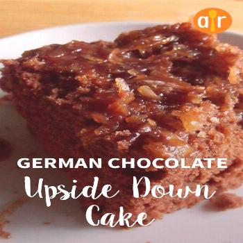 German Chocolate Upside Down Cake |
