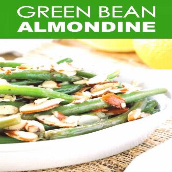 Green Bean Almondine (or Green Bean Amandine) is a simple, crowd-pleasing side dish thats full of f
