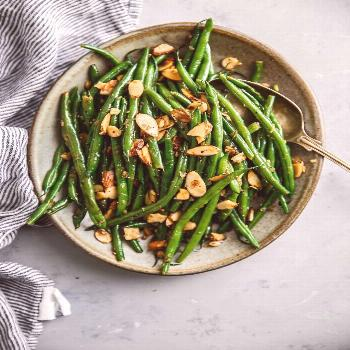 Green Beans Almondine - this classic French recipe of green beans with almonds has been elevated wi