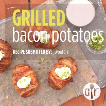 Grilled Bacon Potatoes Grilled Bacon Potatoes | This is a really great recipe! Just the right amoun