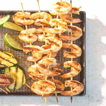 Grilled Tequila-Lime Shrimp |