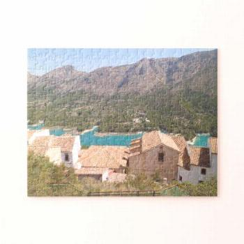 Guadalest Valley Alicante Spain Jigsaw Puzzle