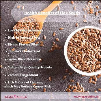 Heath Benefits of Flax seeds have become popular due to their high content of omega-3 fatty acids,