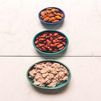 How to make Almond Meal from Almond Pulp leftover from making nut milk! Perfect for gluten- and gra