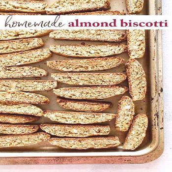 Italian Almond Cookies Cantucci are Italian almond cookies also known as biscotti. These crunchy co