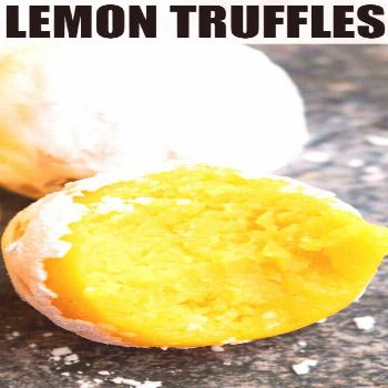 Lemon Truffles (Lemon Cake Balls) -