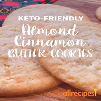 Low-Carb Almond Cinnamon Butter Cookies |
