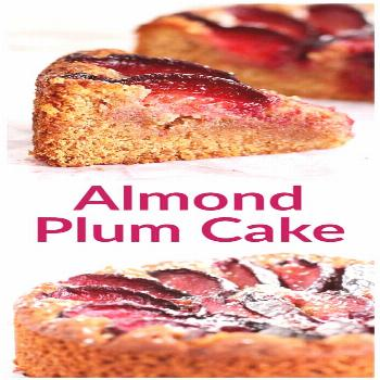 Maybe the best Plum Cake I ever made! Ground almonds give it texture, honey adds sweetness, and all
