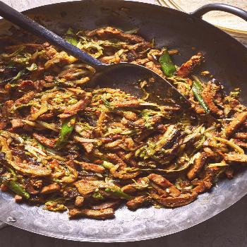Moo Shu Pork with Mandarin Pancakes |