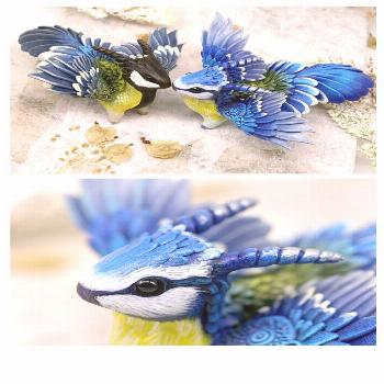 New Dragons and Fantasy Animals Miniatures by Evgeny Hontor. 800+ Painted and unpainted totem polym