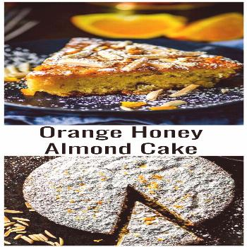 Orange Honey Almond Cake Eight simple ingredients are all you need to make our Sweet, chewy, nutty