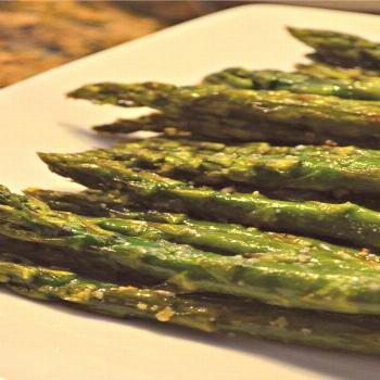 Oven-Roasted Asparagus |