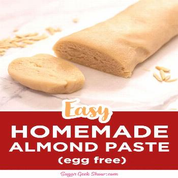 Recipe call for almond paste? Don't buy it! You can make it with only four ingredients! Don't ever