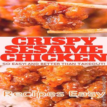 Recipes Easy Chinese | Crispy Sesame Chicken is Tasty !!! You must see the complete recipes.