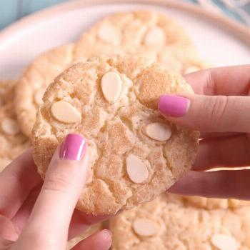 Sand Dollar Sugar Cookies Use slices of almonds for the sand dollar accent on your sugar cookie for