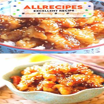 Sesame Chicken - - Sesame Chicken - crispy chicken with sweet, savory sauce with lots of sesame see