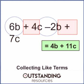 Simplifying Algebra and Collecting Like Terms (+ worksheets) | TpT
