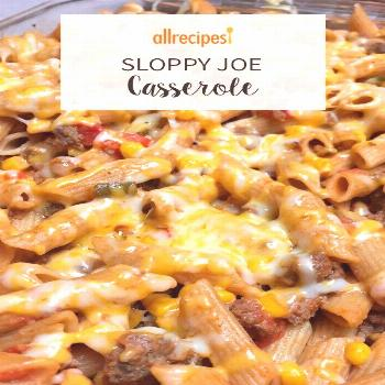 Sloppy Joe Casserole Recipe Sloppy Joe Casserole |