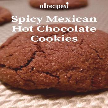 Spicy Mexican Hot Chocolate Cookies |