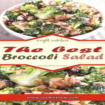 The best Broccoli Salad, Best Ever Broccoli Salad recipe is bursting with flavor! The perfect addit
