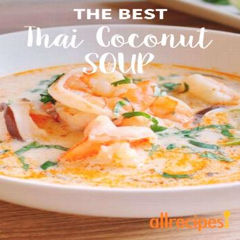 The Best Thai Coconut Soup |