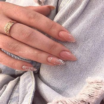 The most elegant and beautiful almond nails This article collects the most popular almond nails in