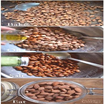 Trust me- you'll want to make these perfectly salted roasted almonds asap - so easy and yummy!