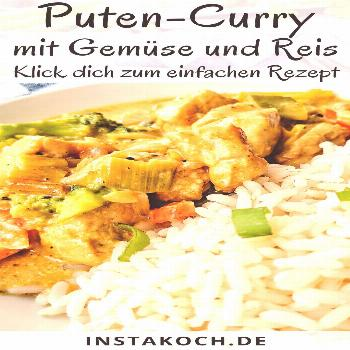 Turkey curry with broccoli, almonds and rice - click here for the delicious recipe - -