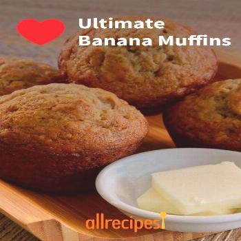 Ultimate Banana Muffins |
